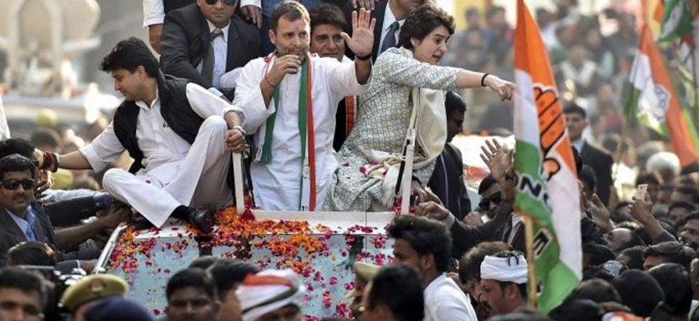Priyanka Gandhi to take care of 41 Lok Sabha seats in UP, Jyotiraditya Scindia to look after 39