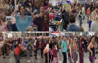 Watch Video: Bollywood fever grips California, flash mob dances to 'London Thumakda'
