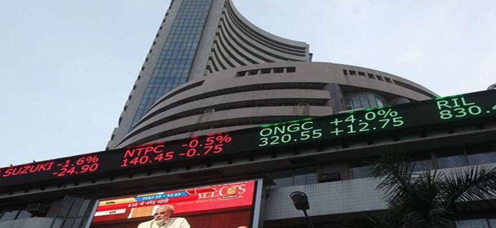 The NSE Nifty too climbed 29.20 points, to 10,860.60