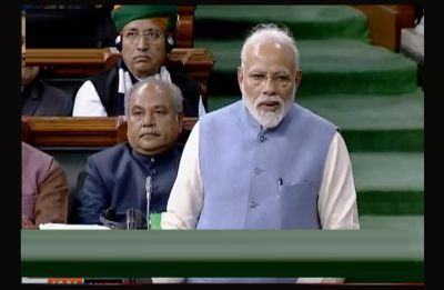 I understood the meaning of 'gale milna' and 'gale padna' here: PM Modi in his last Lok Sabha speech