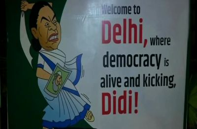 Ahead of Opposition's mega Jantar Mantar rally, poster war plays out on Delhi streets