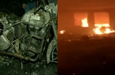 200 huts caught in fire at Delhi's Paschim Puri slum, woman injured