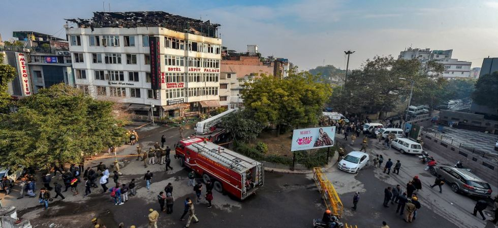 Delhi police launches investigation in Karol Bagh hotel fire tragedy (Photo Source: PTI)