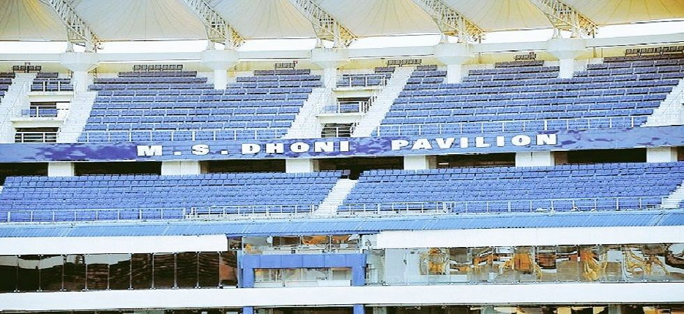 South stand in JSCA Stadium to be named after MS Dhoni (Image Credit: Twitter)