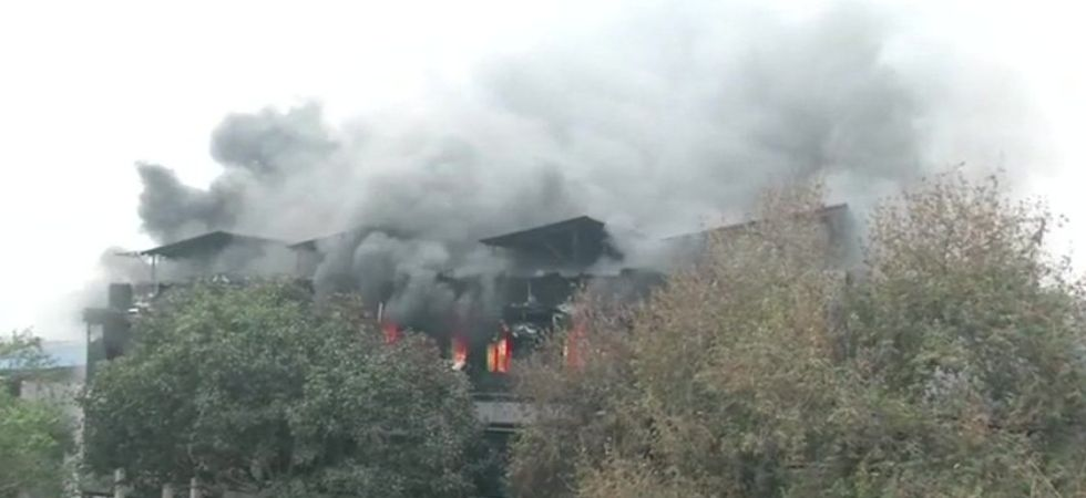 Fire breaks out at factory in Delhi's Naraina, 12 fire tenders on spot
