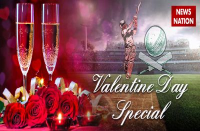Indian cricketers celebrated Valentine's Day with their soul mate