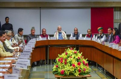 Government calls all-party meeting at 11 am in Parliament library today over Pulwama attack