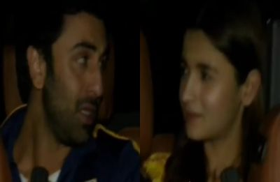 Watch VIDEO: Is Ranbir Kapoor MIFFED with Alia Bhatt over something?
