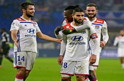 Lyon warm-up for clash against Barcelona in UEFA Champions League with gritty win