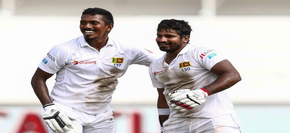 Kusal Perera and Vishwa Fernando gave Sri Lanka a magnificent one-wicket win against South Africa in Durban. (Image credit: Twitter)