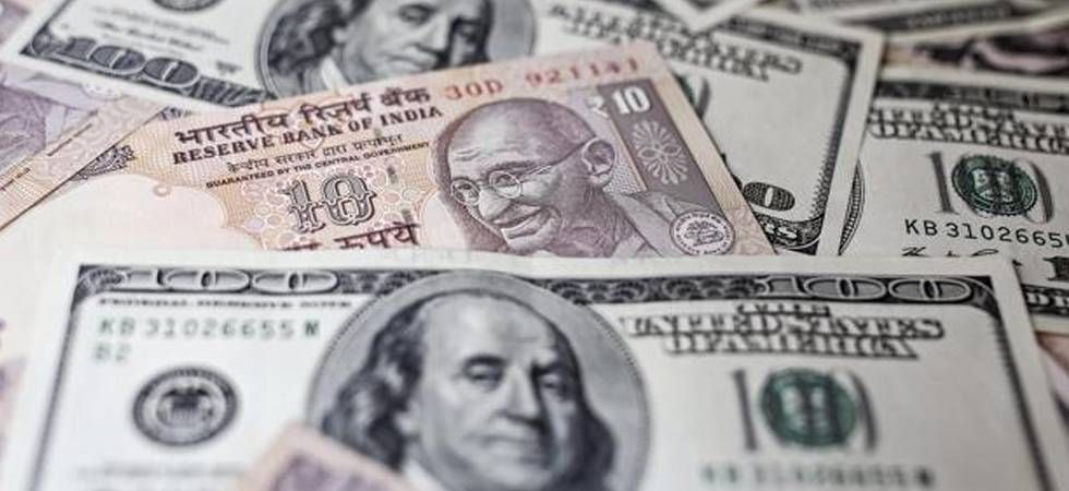 The rupee weakened by 15 paise to trade at 71.38 against the US dollar in early trade on Monday
