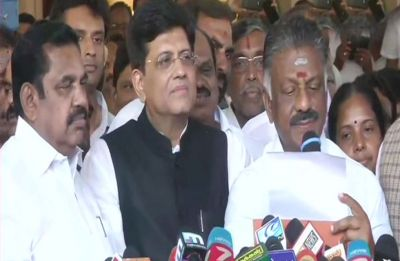 BJP and AIADMK announce alliance in Tamil Nadu for 2019 Lok Sabha Elections