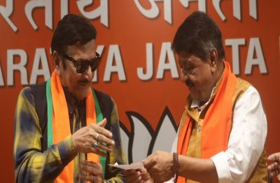 After Moushumi, veteran Bengali actor Biswajit Chatterjee joins BJP