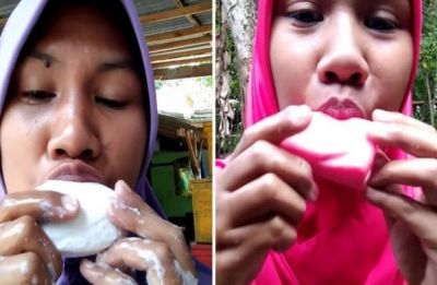 WATCH   Testing soap by tasting it: Indonesian woman's quirky DIY video goes viral