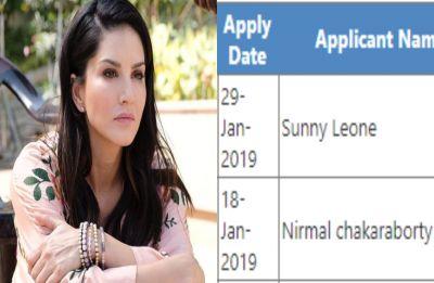 Sunny Leone TOPS junior engineer exam in Bihar, check her score
