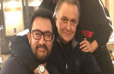 Aamir Khan visits Rishi Kapoor in New York, Neetu Kapoor shares an adorable picture