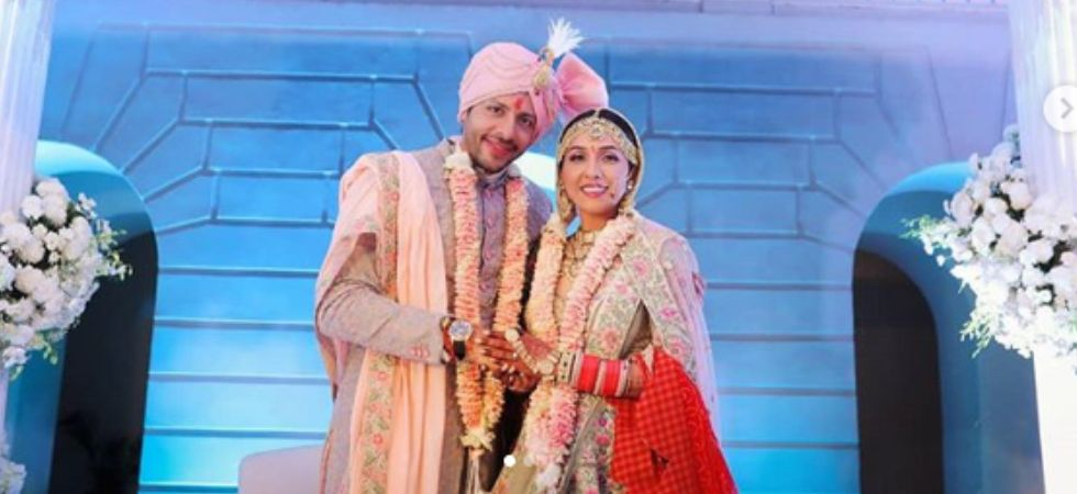 Neeti Mohan and Nihar Pandya'a wedding pics (Instagram)