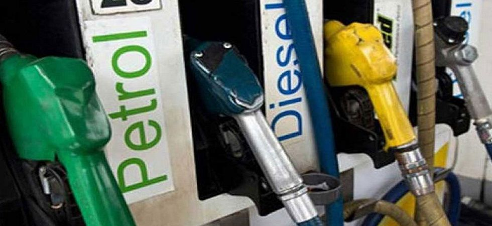 Retail petrol price in Mumbai was Rs 76.79 (rise of 15 paise), while diesel cost Rs 69.47 a litre (an increase of 17 paise). (File photo)