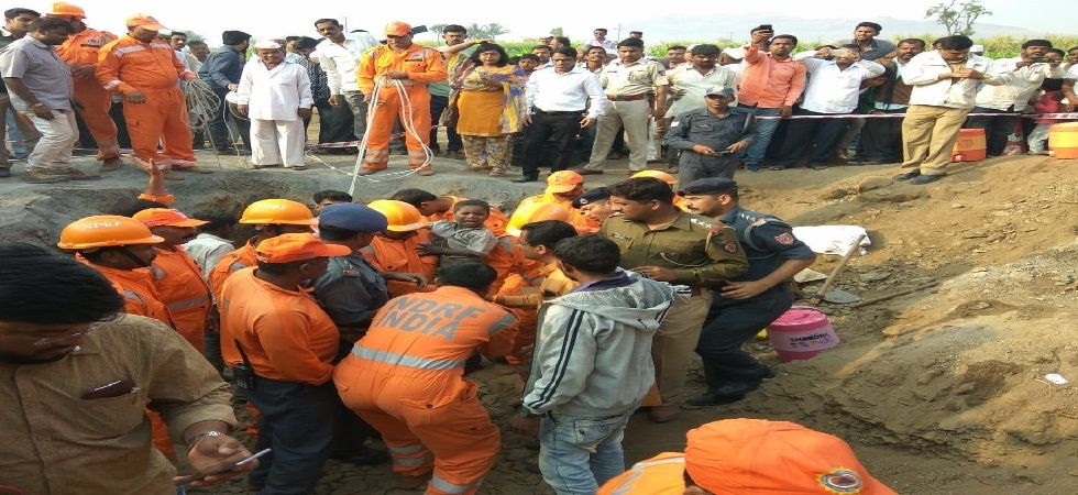 The police and the National Disaster Response Force teams had rushed to the site to rescue the boy. (Photo: ANI)