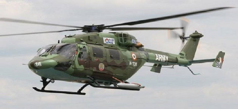 HAL delivers first three Dhruv helicopters to Indian Army (file photo)