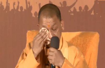 Watch: CM Yogi Adityanath gets emotional while talking about Pulwama attack