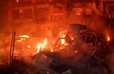 Fire breaks out in Ahmedabad, Rs 25 lakh turn to ashes as blaze engulfs Indian Bank's ATM