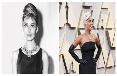 Lady Gaga blazes at Oscars in a Rs 200-crore Tiffany Diamond, last worn by fashion icon Audrey Hepburn