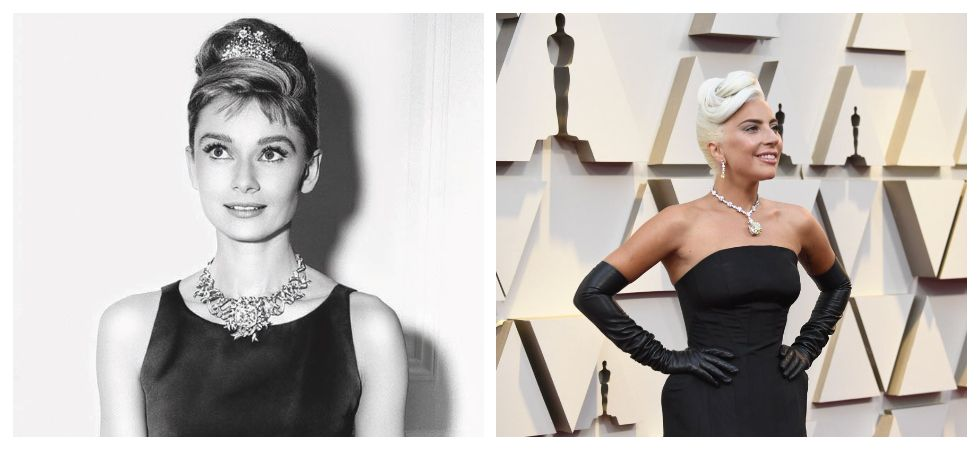 Lady Gaga blazes at Oscars in a Rs 200-crore Tiffany Diamond (Photo: Twitter)