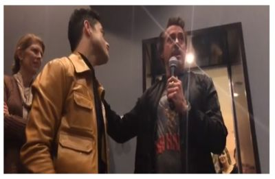 WATCH | Robert Downey Jr. give biggest compliment ever to Oscar winner Rami Malek for Bohemian Rhapsody