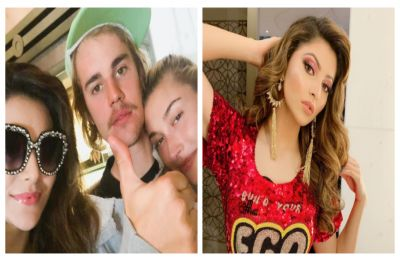 Urvashi Rautela's birthday picture with Justin Bieber doesn't go as planned, netizens call it 'fake'