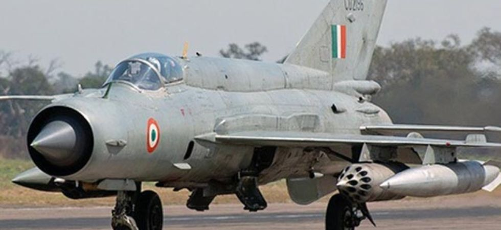 One IAF pilot Wing Commander took off in MiG 21 Bison today, he is