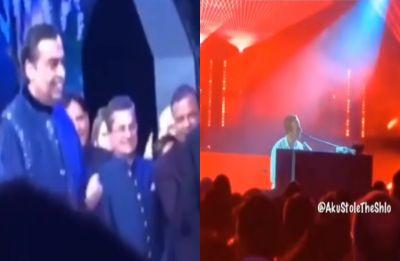 Akash Ambani-Shloka Mehta's sangeet: Coldplay, Shah Rukh Khan and Aamir Khan set stage on fire