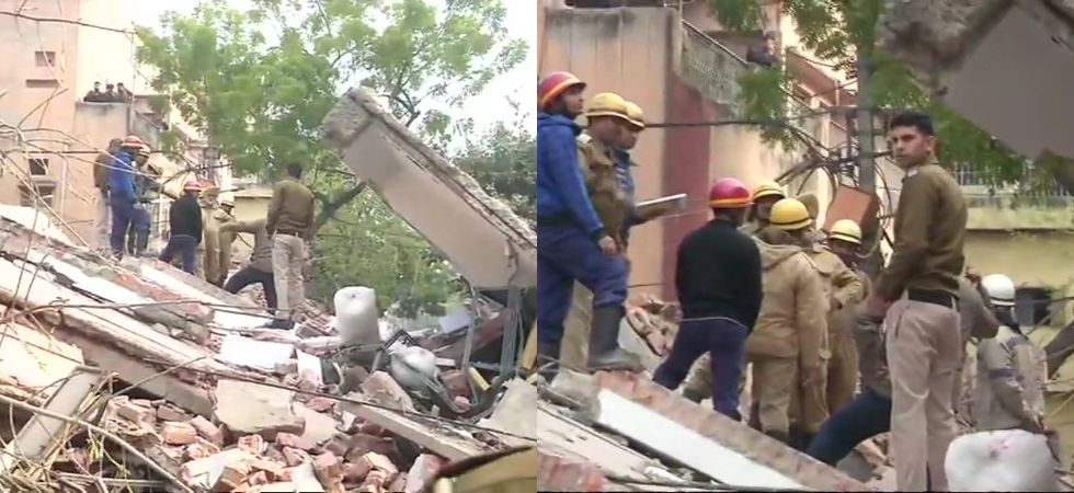 4-storey commercial building collapses in Karol Bagh, no casualties