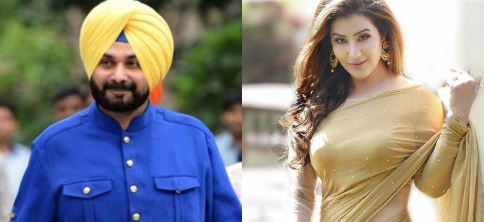 Navjot Singh Sidhu and Shilpa Shinde