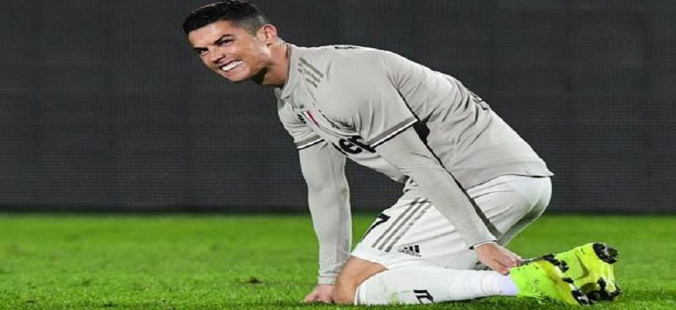 Cristiano Ronalod in doubt for Juventus' trip to Napoli (Image Credit: Twitter)