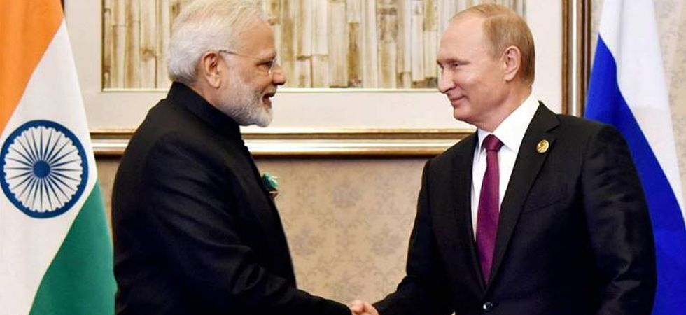 Prime Minister Narendra Modi and Russian President Vladimir Putin