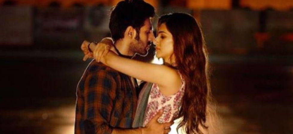 Kartik Aaryan and Kriti Sanon's film, Luka Chuppi hit the screens today./ Image: Instagram