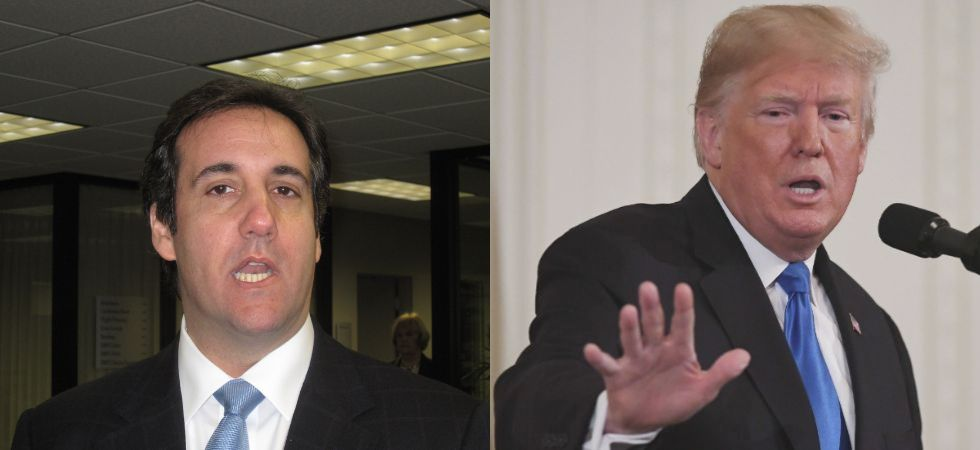 Cohen also said Trump directed him to arrange a hush money payment to a porn actress who said she had sex with the president a decade earlier. (File photo)