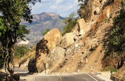 Watch Video: Massive landslide blocks Jammu-Srinagar National Highway