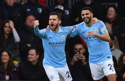 Manchester City surge to top of Premier League, Manchester United move to fourth