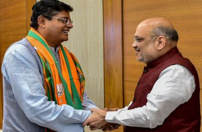 Jay Panda, former Naveen Patnaik aide and BJD's Lok Sabha member, joins BJP