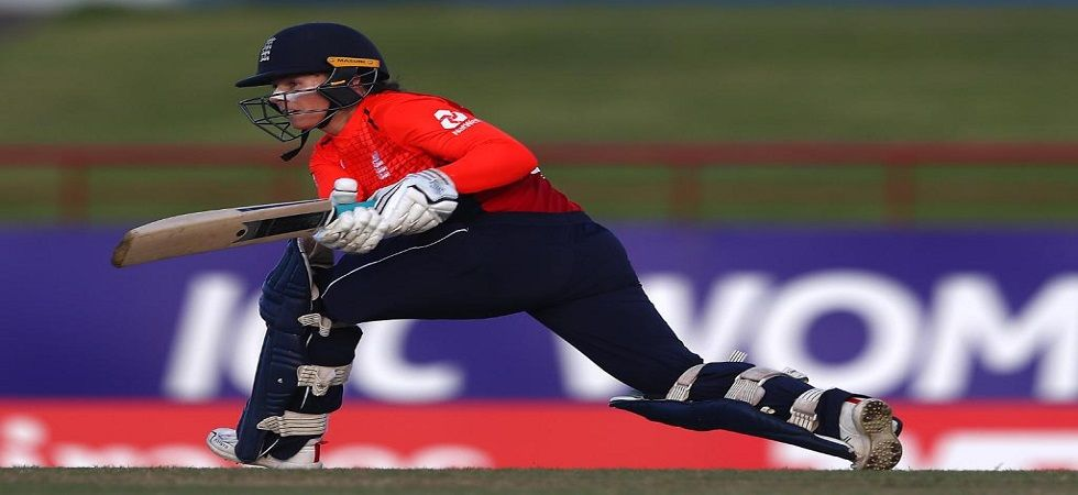 Tammy Beaumont scored a magnificent 62 and helped England win by 41 runs to take a 1-0 lead in the three-match series. (Image credit: ICC Twitter)