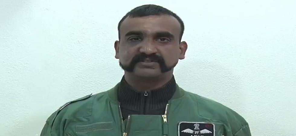 Wing Commander Abhinandan Varthaman.