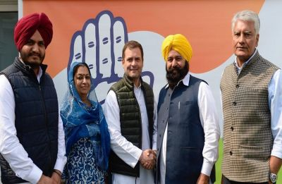 Ferozepur MP Sher Singh Ghubaya joins Congress a day after quitting Akali Dal