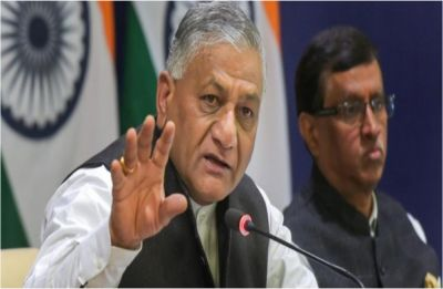 Was Rajiv Gandhi's assassination an accident? VK Singh retorts on Digvijaya's Pulwama comment