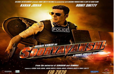 Akshay Kumar starrer 'Sooryavanshi' first look out, Here's how celebs reacted