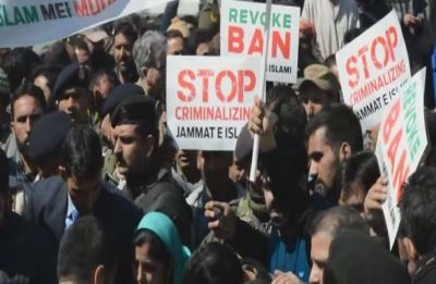 Mehbooba Mufti protests ban on Jamaat-e-Islami in Jammu and Kashmir