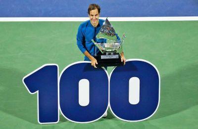 Roger Federer dismisses 'Superman' tag after winning record 100th ATP title