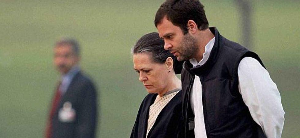 Congress president Rahul Gandhi and UPA chairperson Sonia Gandhi