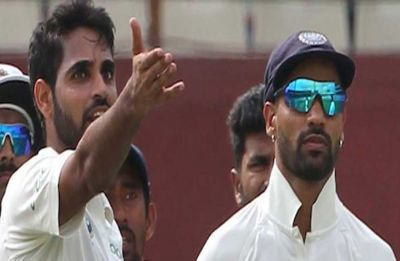 BCCI downgrades Shikhar Dhawan, Bhuvneshwar Kumar's central contracts
